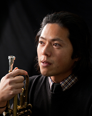 Henry Hung, trumpeter for Jazz Combustion Uprising